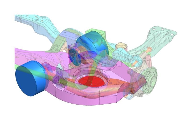 Oprogramowanie Siemens NX zamodelowanie