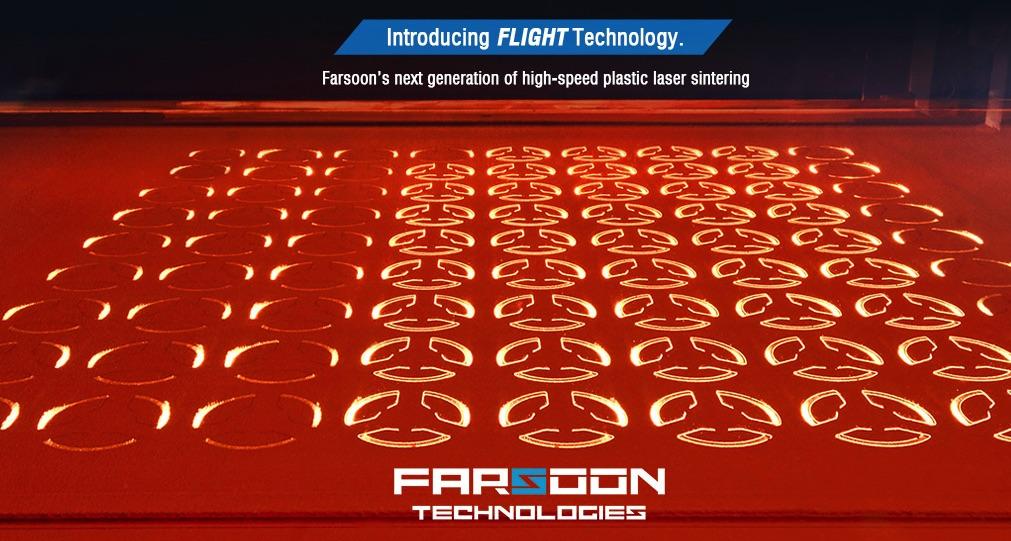 Farsoon Technologies technologia FlightTM Awexim