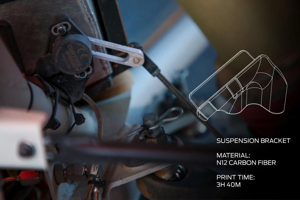 suspension wydrukowany na drukarce 3D MakerBot METHOD X