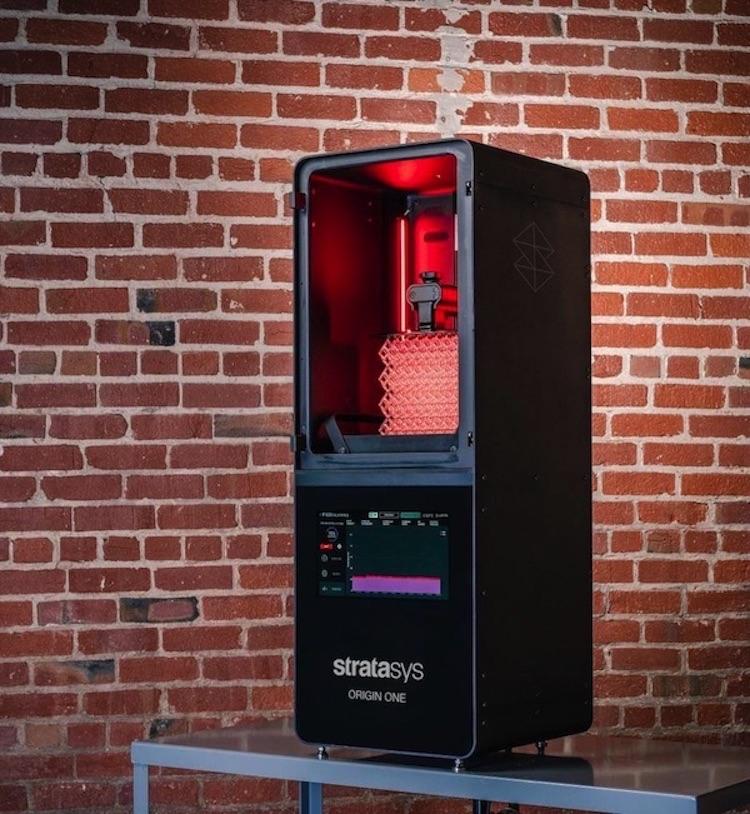 Drukarka 3D Origin One do seryjnej produkcji z żywic Stratasys