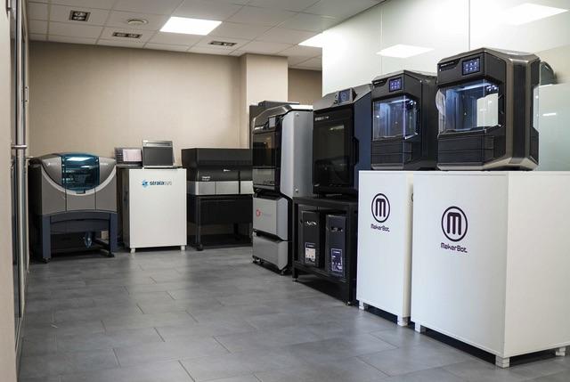 cadxpert drukarki 3D Stratasys showroom