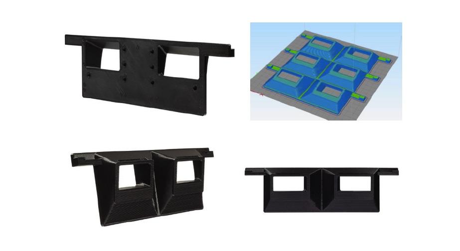 Omni3D prototypy wydrukowanego adaptera