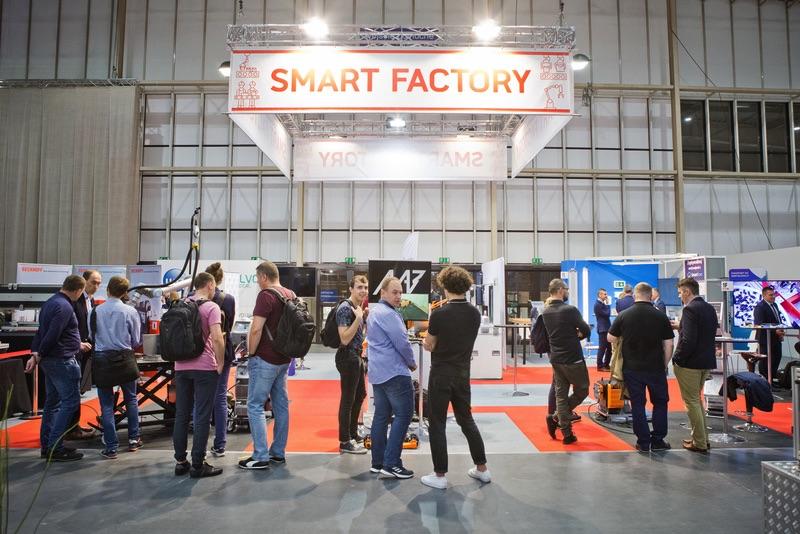 ITM Industry Europe 2021 strefa smart factory